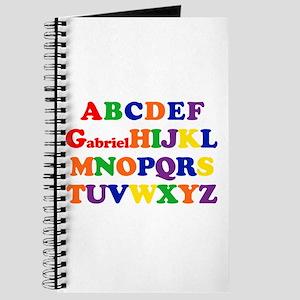 Gabriel - Alphabet Journal