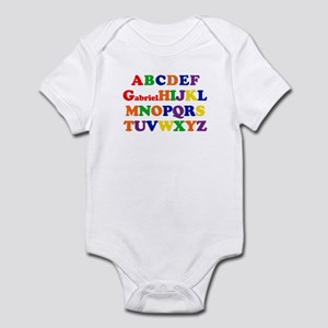 Gabriel - Alphabet Infant Bodysuit