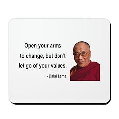 Dalai Lama 16 Mousepad