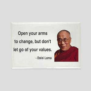Dalai Lama 16 Rectangle Magnet