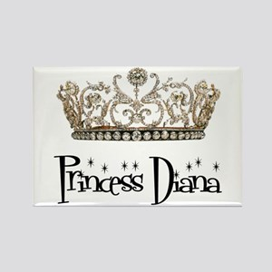 Princess Diana Rectangle Magnet