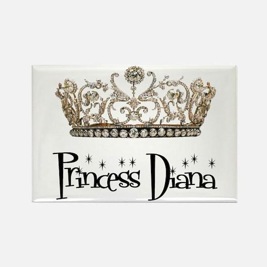 Princess Diana Rectangle Magnet