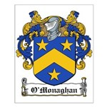 O'Monaghan Family Crest Small Poster
