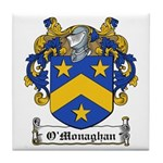 O'Monaghan Family Crest Tile Coaster