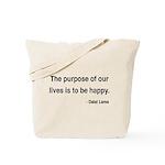 Dalai Lama 17 Tote Bag