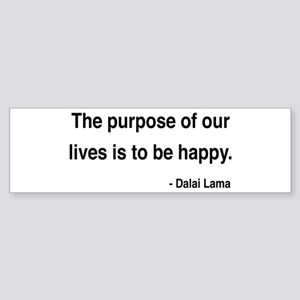Dalai Lama 17 Bumper Sticker