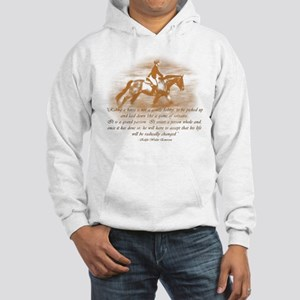 Riding Is A Passion Equestrian Hooded Sweatshirt