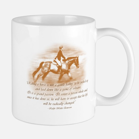 Riding Is A Passion Equestrian Mug