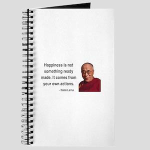 Dalai Lama 18 Journal