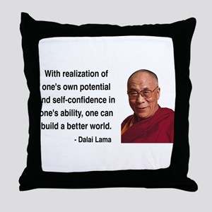 Dalai Lama 19 Throw Pillow