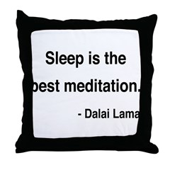Dalai Lama 20 Throw Pillow