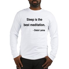 Dalai Lama 20 Long Sleeve T-Shirt