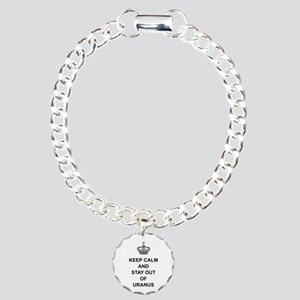 Keep Calm And Stay Out O Charm Bracelet, One Charm