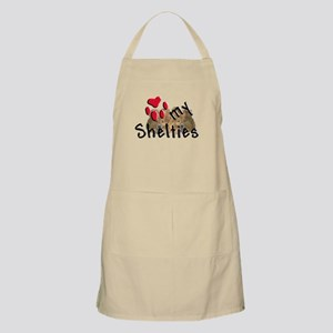 Love my Shelties BBQ Apron