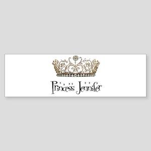 Princess Jennifer Bumper Sticker