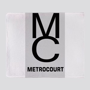 GeneralHospitalTV Metro Court Throw Blanket