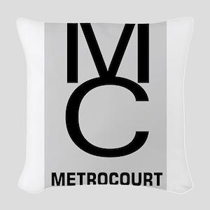 GeneralHospitalTV Metro Court Woven Throw Pillow