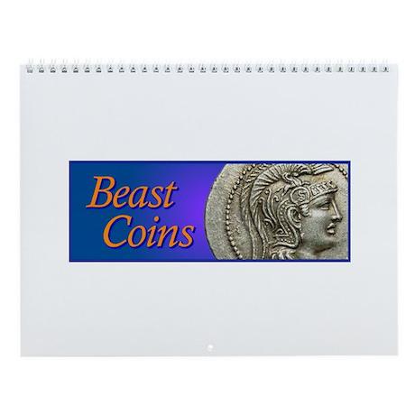 Beast Coins Wall Calendar