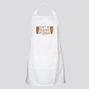 Don't Touch Congas BBQ Apron