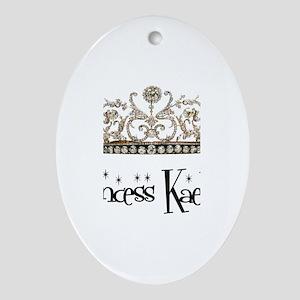 Princess Kaelyn Oval Ornament