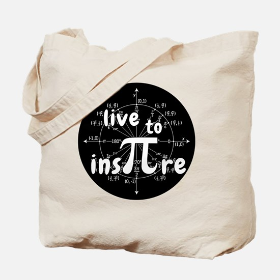 Unique Funny math joke Tote Bag