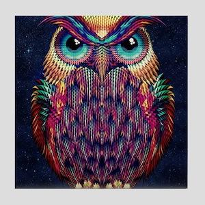 Owl 2 Tile Coaster
