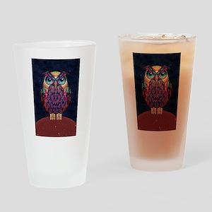Owl 2 Drinking Glass