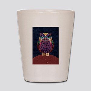 Owl 2 Shot Glass