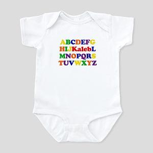 Kaleb - Alphabet Infant Bodysuit