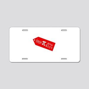Pi day Aluminum License Plate