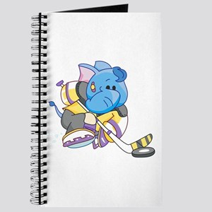 Lil Blue Elephant Hockey Journal