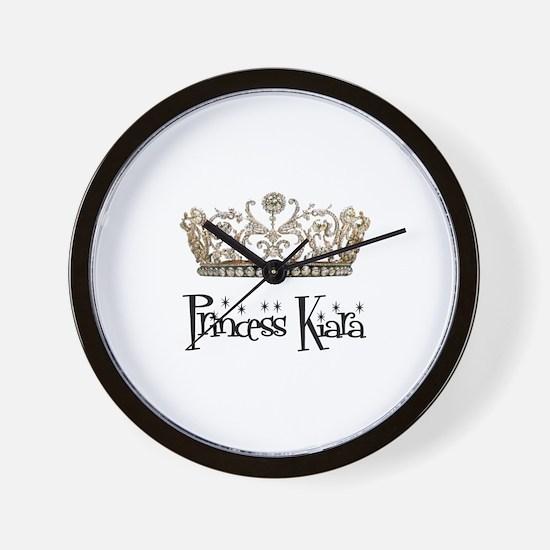 Princess Kiara Wall Clock