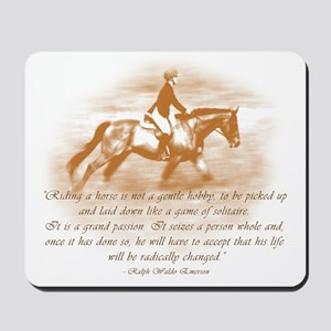 Riding is a Passion Mousepad