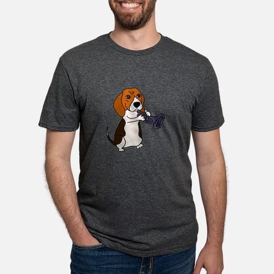 Beagle Playing Trumpet T-Shirt