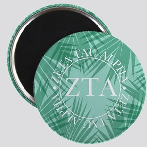 Zeta Tau Alpha Leaves Magnet