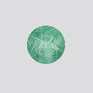 Zeta Tau Alpha Leaves Mini Button