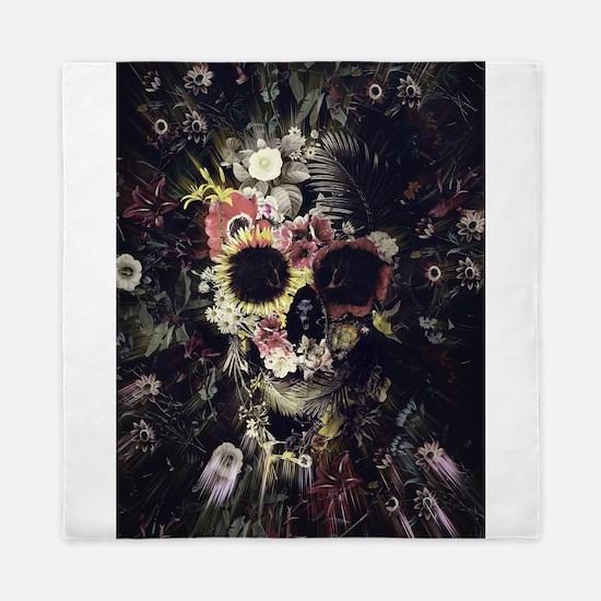 Garden Skull Queen Duvet