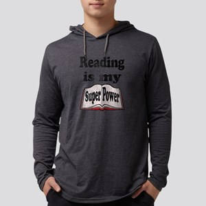 Vintage Reading is my Super Power Long Sleeve T-Sh