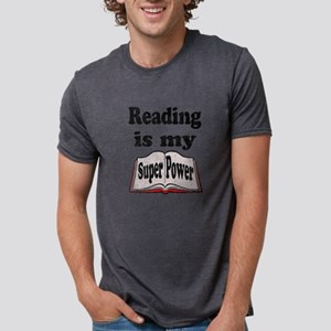 Vintage Reading is my Super Power T-Shirt