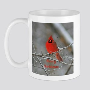 Merry Christmas Cardinal Mug