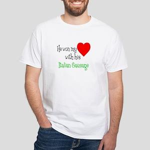Won My Heart Italian Sausage T-Shirt