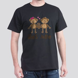 Monkey Couples Valentines Day T-Shirt