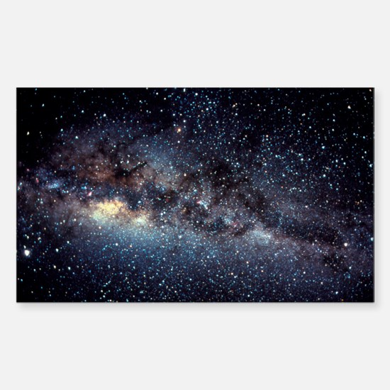 Optical image of the Milky Way Decal