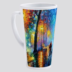 Evening Walk 17 oz Latte Mug