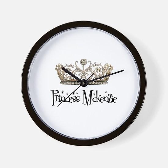 Princess Mckenzie Wall Clock