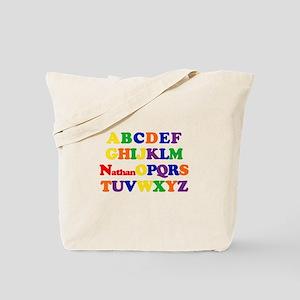 Nathan - Alphabet Tote Bag