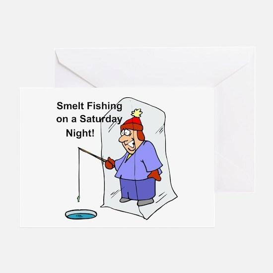 Smelt Fishing Greeting Card