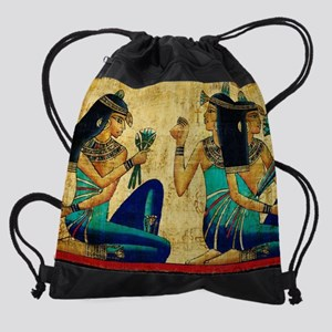Egyptian Queens Drawstring Bag