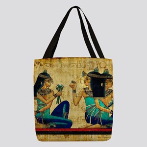 Egyptian Queens Polyester Tote Bag