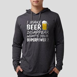 I Make Beer Disappear Long Sleeve T-Shirt